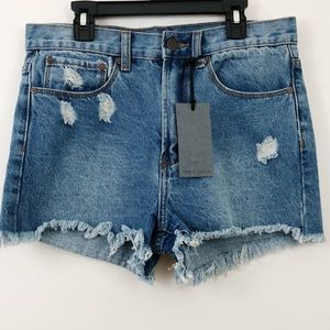 f69b8e8acd Denim Colab saltwater & song Shorts